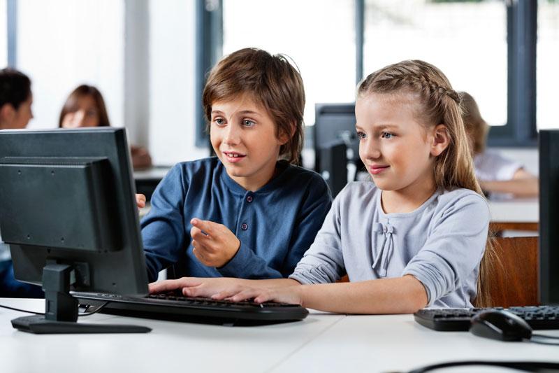 Kids computer class